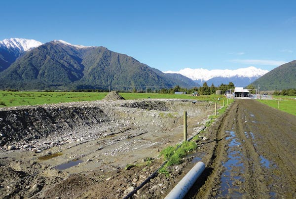Greymouth farm seeking environmental consultant advice for water management and dairy effluent discharge management